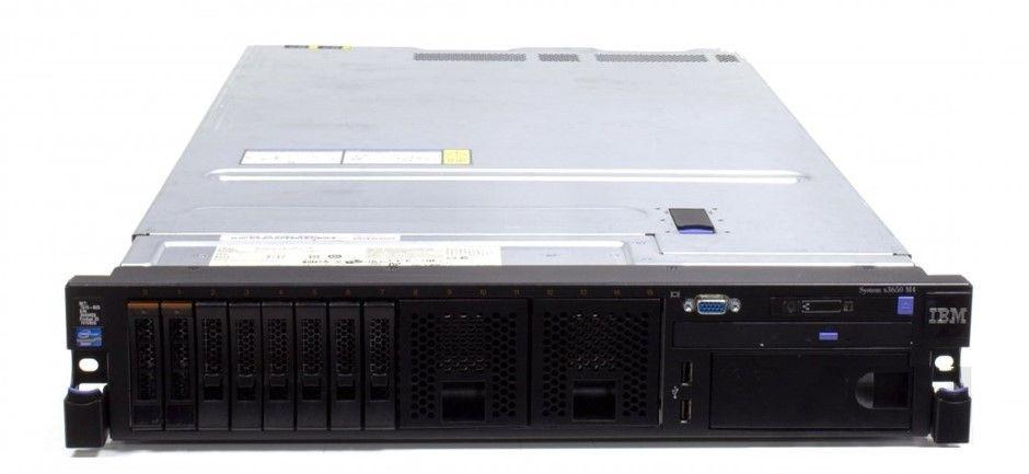 IBM X3650 M4 V2 Rackmount Server 16 Cores 192GB RAM 7.2TB