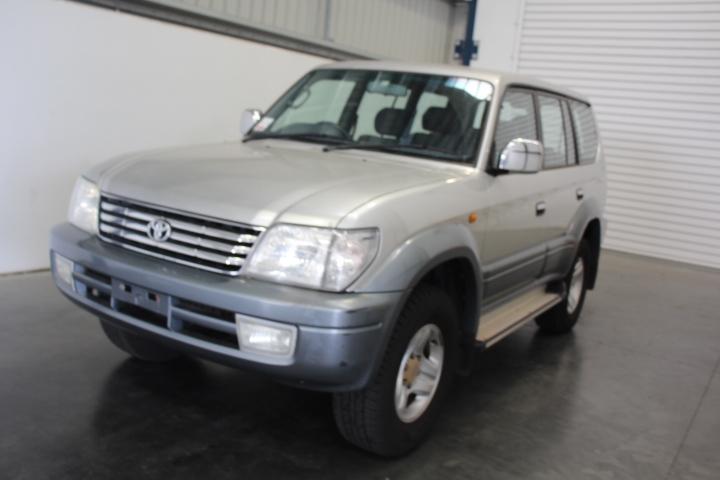 2002 Toyota Landcruiser Prado VX (4x4) VZJ95R Automatic 8 Seat Wagon