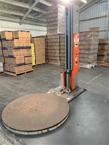 Pallet Wrapping Machine Location: Hobart
