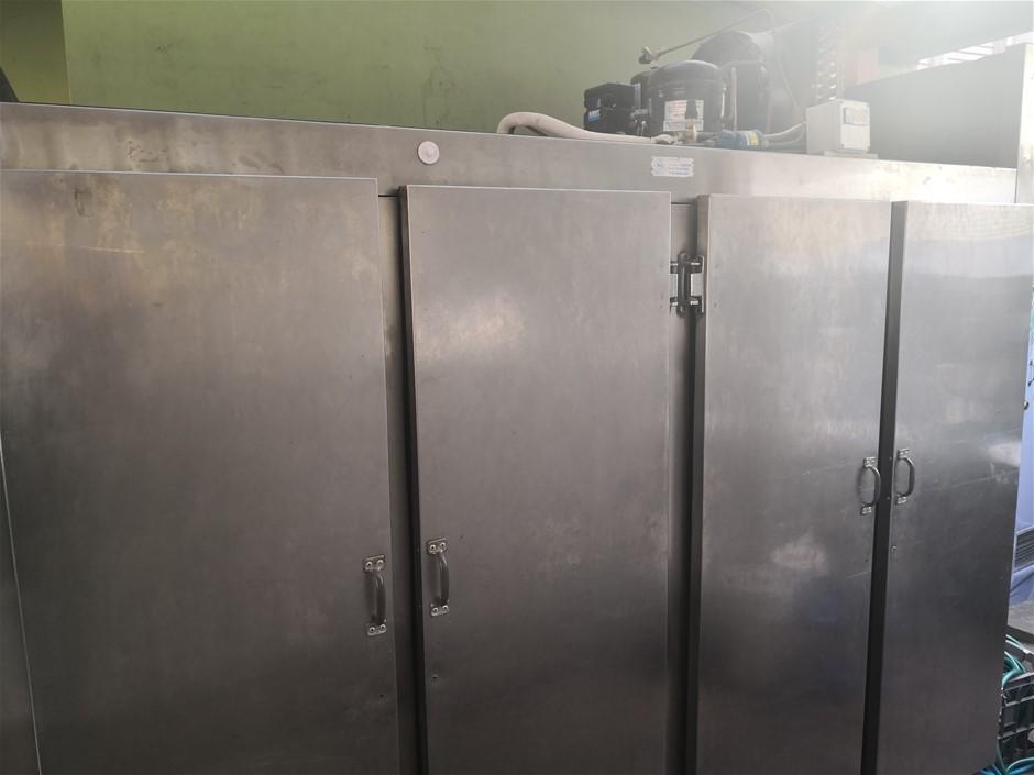 4 Door Stainless Steel Commercial Fridge