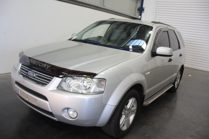 2004 Ford Territory Ghia 4WD 190,390 km's (Service History)