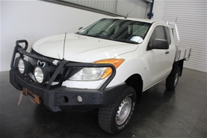 2011 Mazda BT-50 4X4 XT Turbo Diesel Man