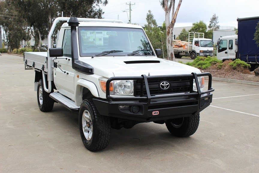 2011 Toyota Landcruiser V8 Turbo Diesel 4WD Manual - 5 Speed Cab Chassis