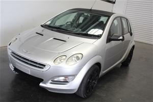 2004 Smart Forfour Pulse W454 Hatchback