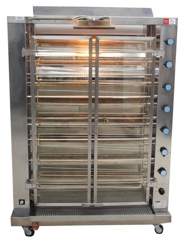 GERMAN MADE KSF GRILL CHICKEN ROTISSORIE, QUALITY COMMERCIAL KITCHE