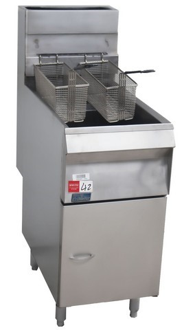 PITCO SINGLE PAN DEEP FRYER, QUALITY COMMERCIAL KITCHEN EQUIPMENT C