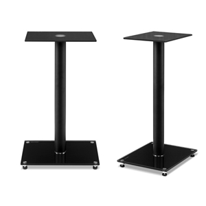 Artiss 2x Speaker Stand Tempered Glass F
