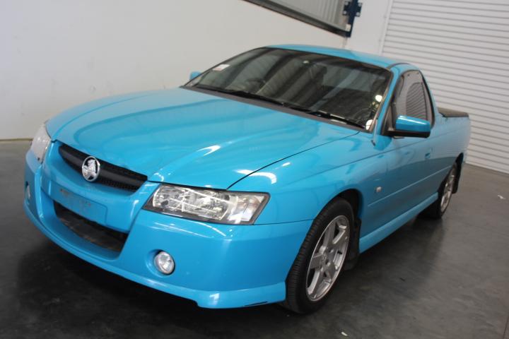 2006 Holden Commodore (S) Ute (Service History)