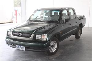 2002 Toyota Hilux Manual Dual Cab