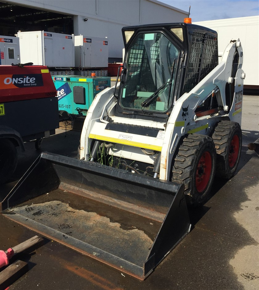 2011 Bobcat S185 840Kg Diesel Skid Steer Loader (Location: Wangara)
