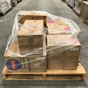 Pallet of Coloured Leisure Chairs & Legs