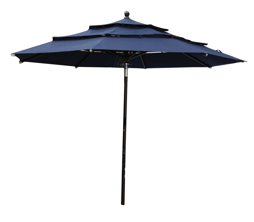 Large Outdoor Patio Umbrella Approx. 3M Span. (SN:CC41986) (266643-87)