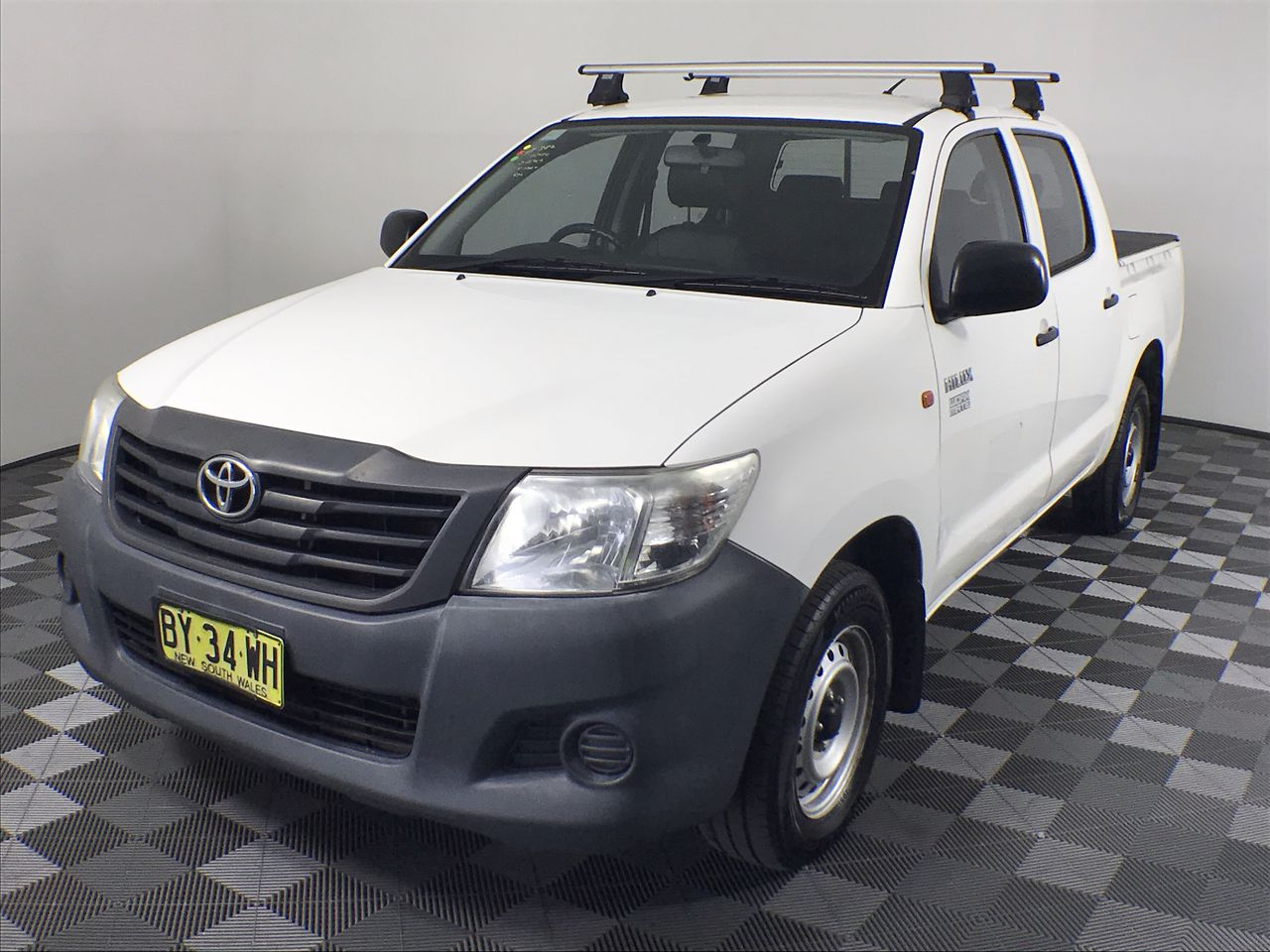 2014 Toyota Hilux Workmate TGN16R Automatic Dual Cab