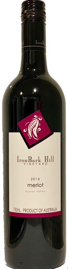 IronBark Hill Merlot 2016 (12x 750mL), Hunter Valley, NSW