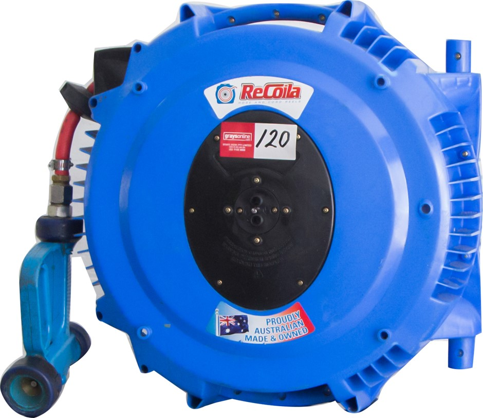 Recoila Hose Reel with Spray gun