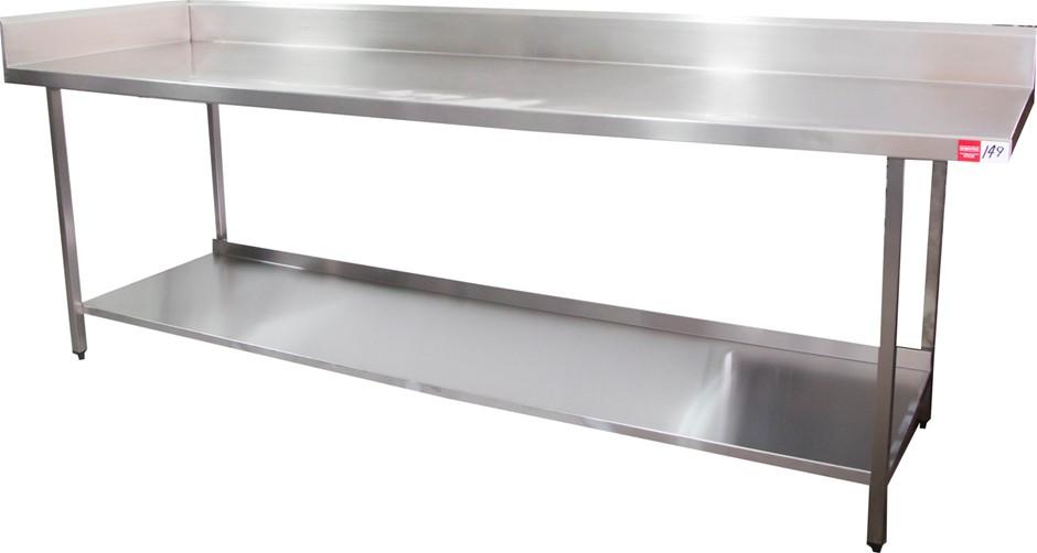 Stainless Steel Freestanding Kitchen Preparation Bench