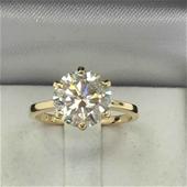 Dima Handcrafted 18 Karat Moissanite & Diamond Collection