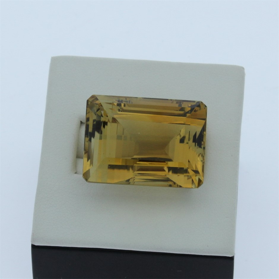 One Loose Emerald Citrine 70.70ct in Total