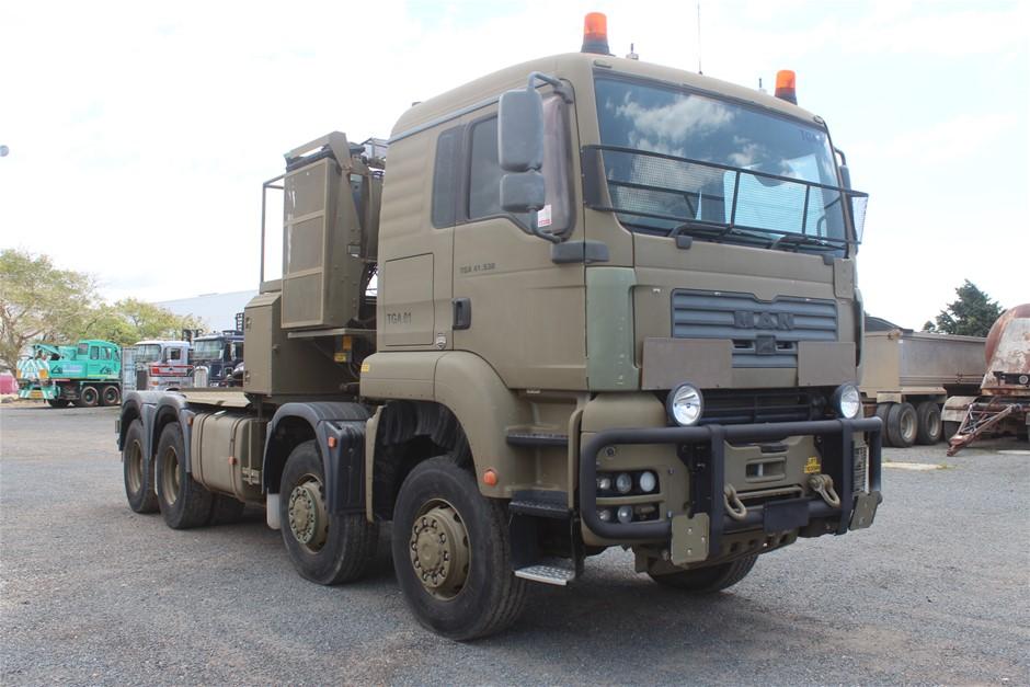 03/2007 MAN TGA 41.530 BB 8X8 Prime Mover Truck (ex. Army)