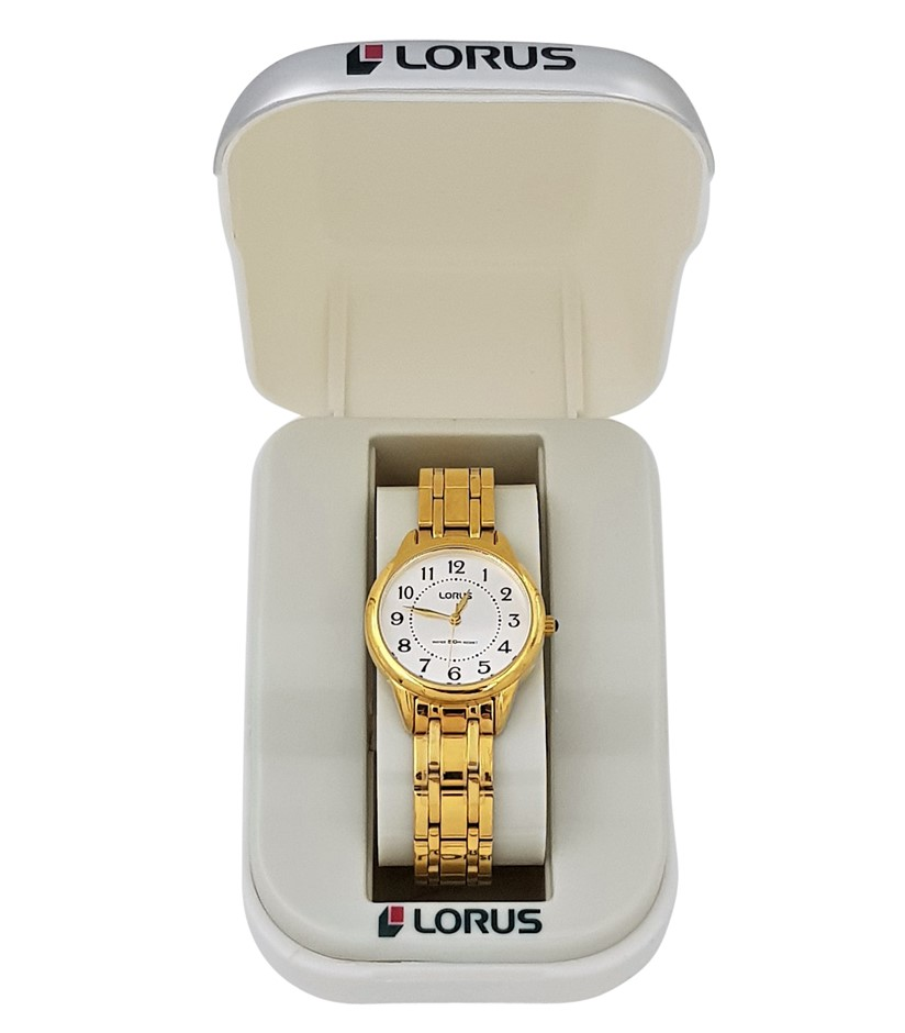 Lorus Gold Plated Ladies Dress Watch