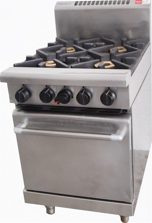 Waldorf Gas 4 Burner Stove with Oven