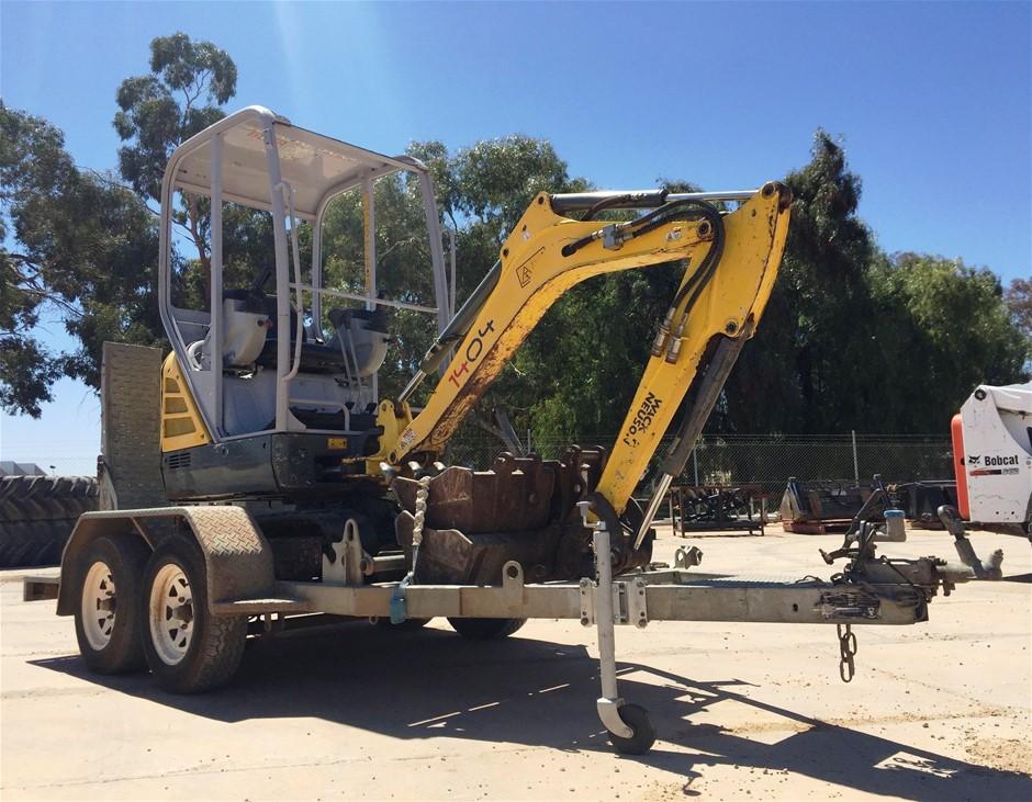 2014 Wacker Neuson 1404 Hydraulic Excavator