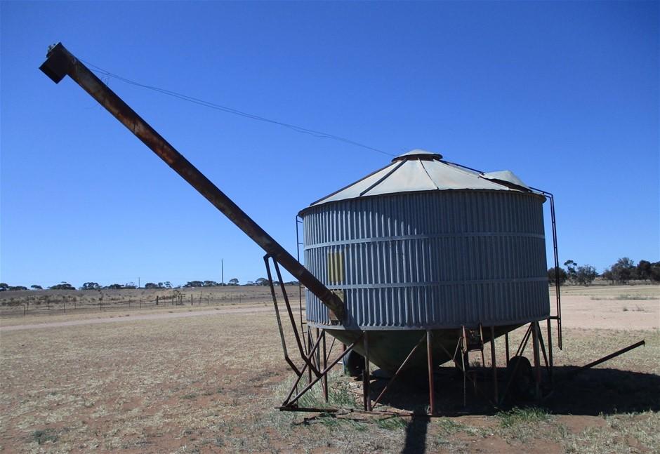 Mobile Galvanised Grain Silo