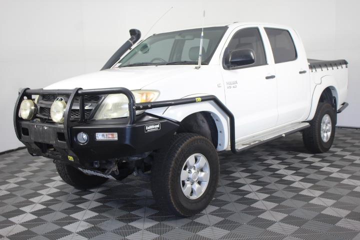 2006 Toyota Hilux SR (4x4) Automatic Dual Cab 173,966 km's
