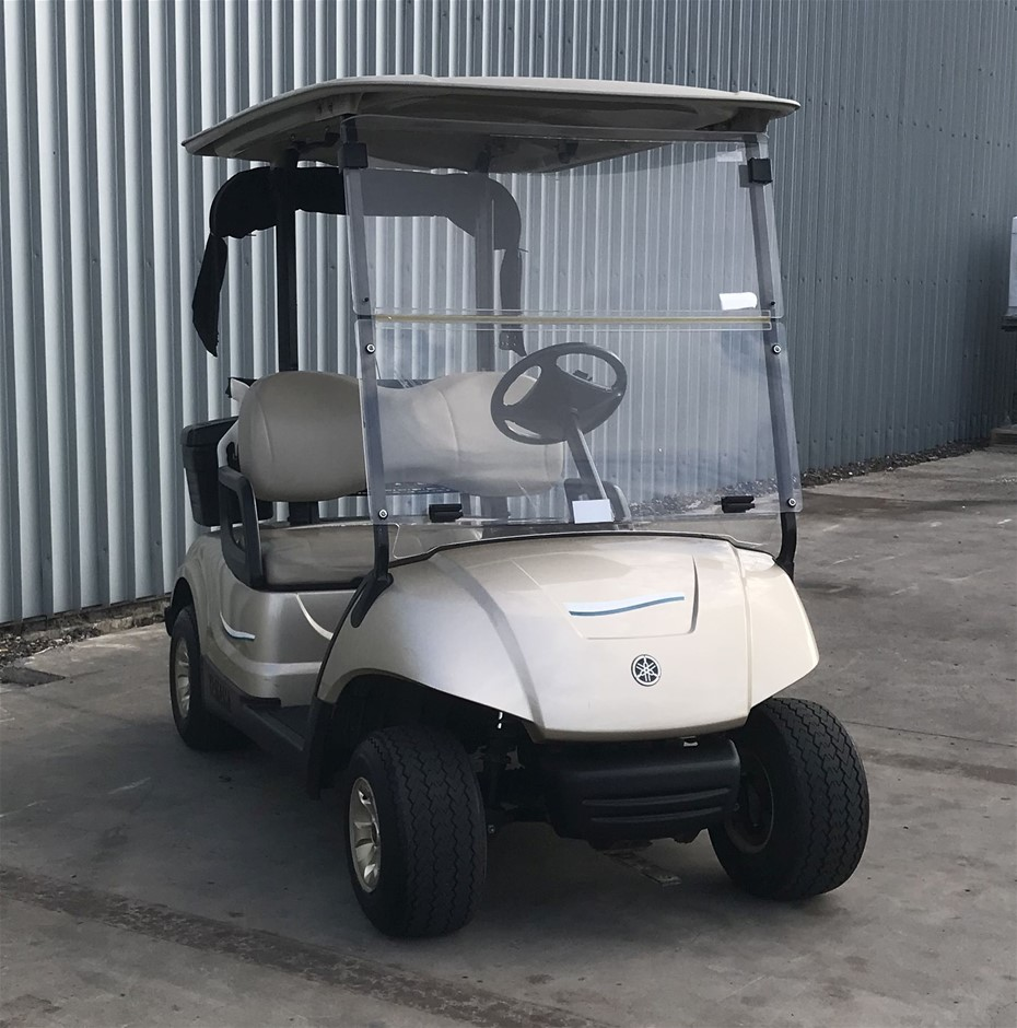 2014 Yamaha G29 Drive 48V Electric Golf Cart (JW9506254) TROJAN Bat