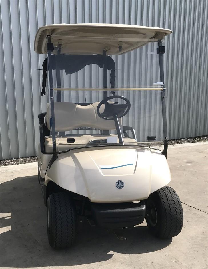 2014 Yamaha G29 Drive 48V Electric Golf Cart (JW9506201) TROJAN Bat