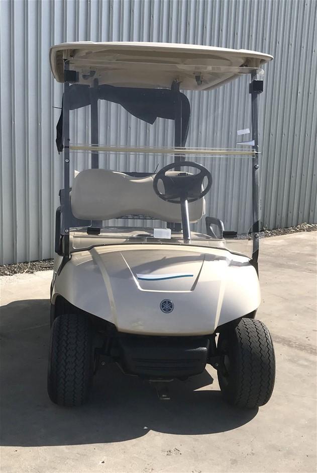 2014 Yamaha G29 Drive 48V Electric Golf Cart (JW9506260) TROJAN Bat