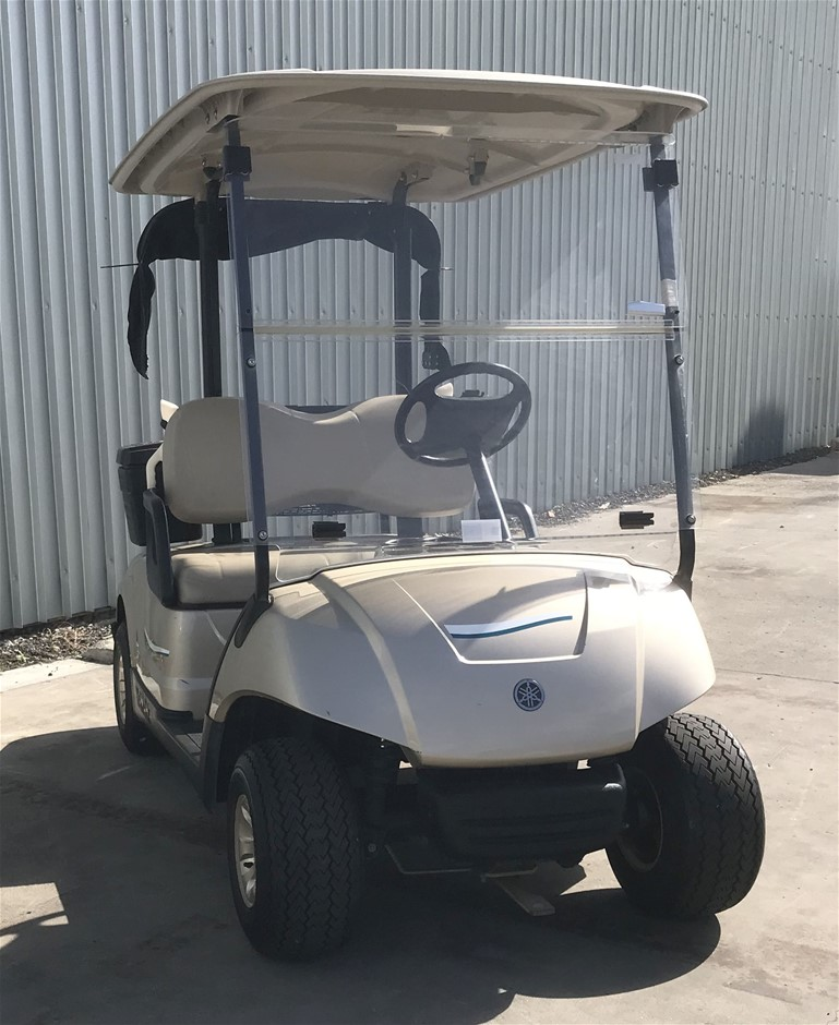 2014 Yamaha G29 Drive 48V Electric Golf Cart (JW9506230) TROJAN Bat