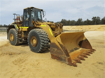 Caterpillar 980G Articlulated Wheel Loader with Bucket