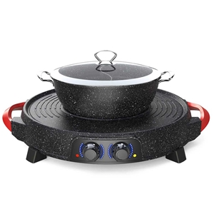 SOGA 2 in 1 Electric Stone Coated Grill