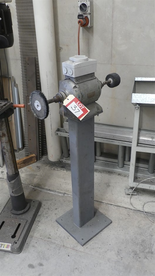 Waldown Double-ended Bench Grinder / Buffing machine