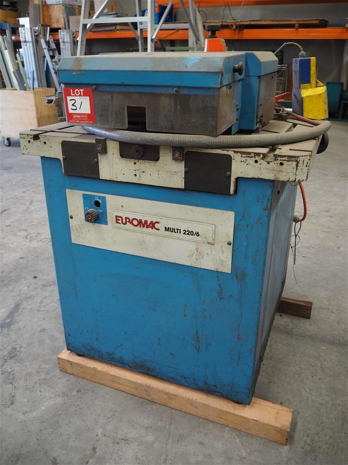 Euromac Multi 220/6 Hydraulic Notcher