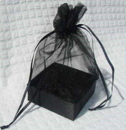 Organza Gift Box Black
