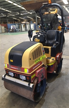 2013 Dynapac CC900 1.6T Diesel Double Smooth Drum Roller
