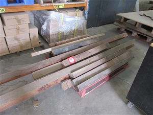 Hard Wood Timber on Pallet
