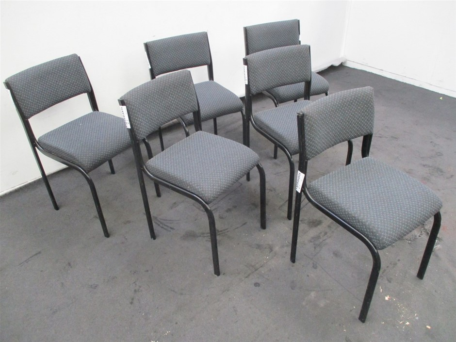 Qty 6 x Reece Reception Chairs