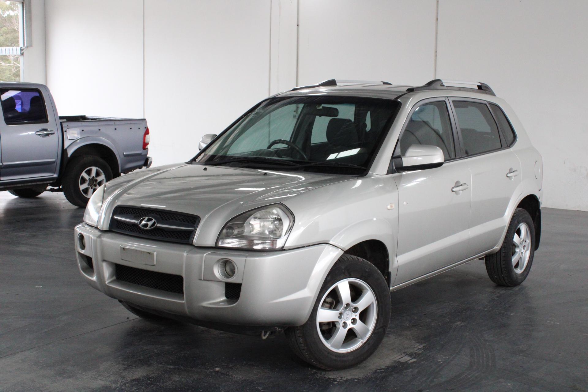 2007 Hyundai Tucson CITY SX Manual Wagon