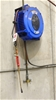 Retractable Hose Reel fitted with Oxygen and Acetylene Hoses