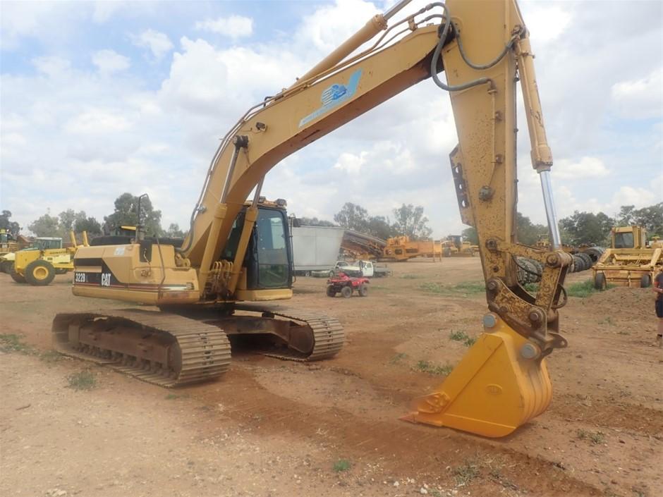 2001 Cat 320BL Excavator