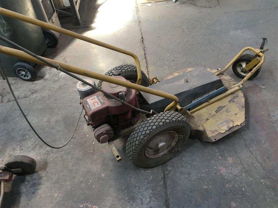 Lawn Mower, heavy duty fabricated deck