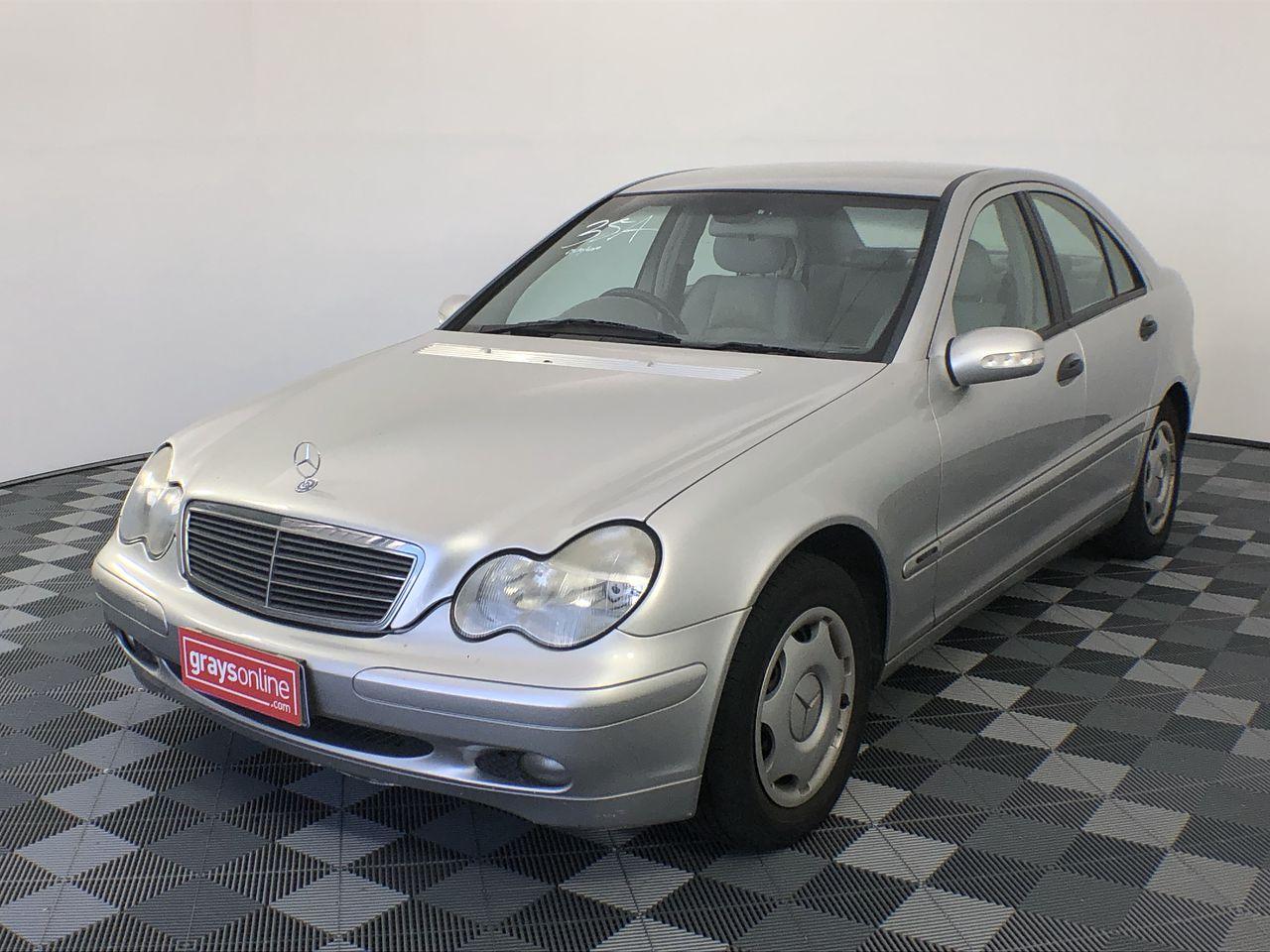2001 Mercedes Benz C180 Classic W203 Automatic Sedan