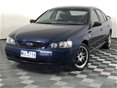 Unreserved 2004 Ford Falcon XT BA Automatic