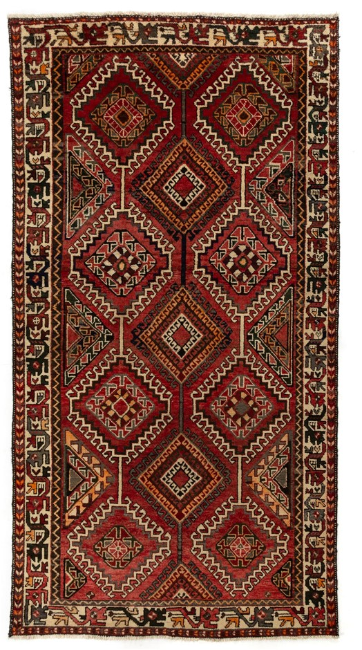 Persian Baktiari Hand Knotted 100% Wool pile Size (cm): 155 x 299