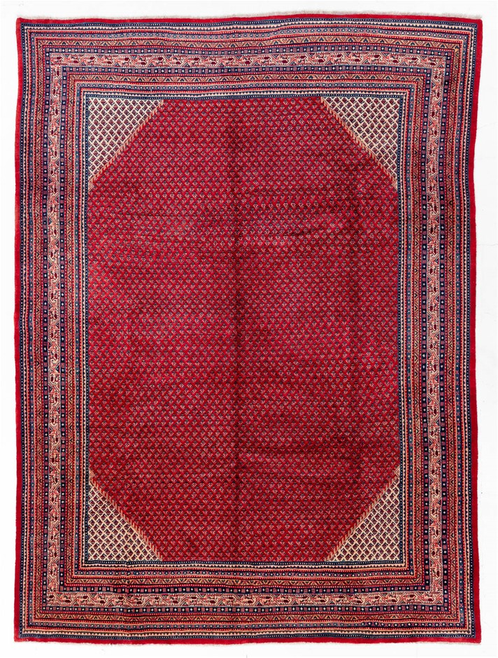 Persian Kashan Hand Knotted 100% Wool Pile Size (cm): 265 x 365