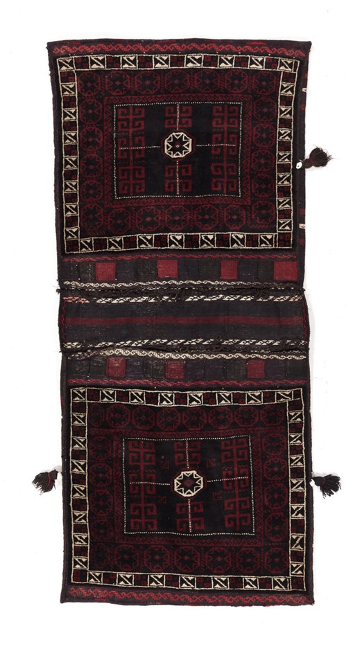 Persian Saddle Bag 100 % Wool Pile hand knotted Size (cm): 80 x 170