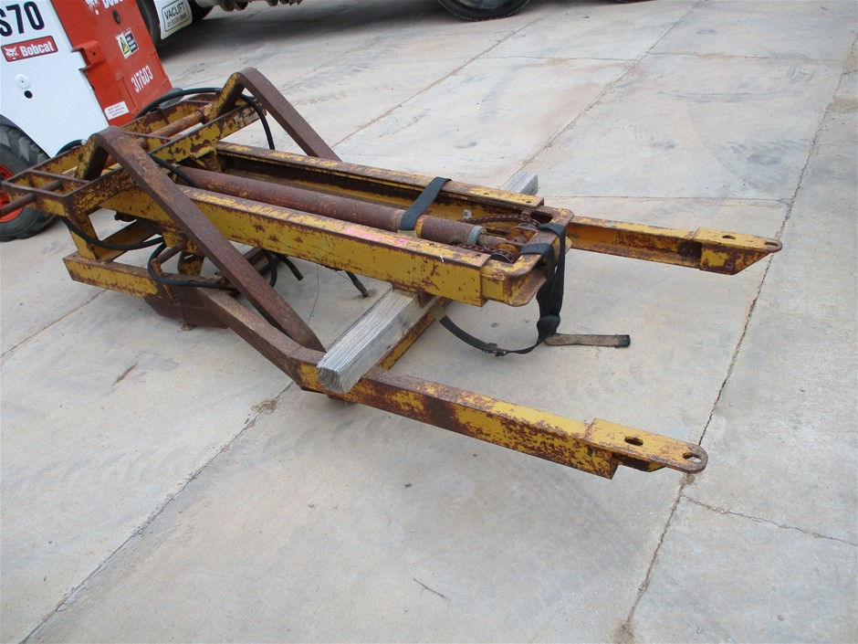 Steel Fabricated Forklift Attachment